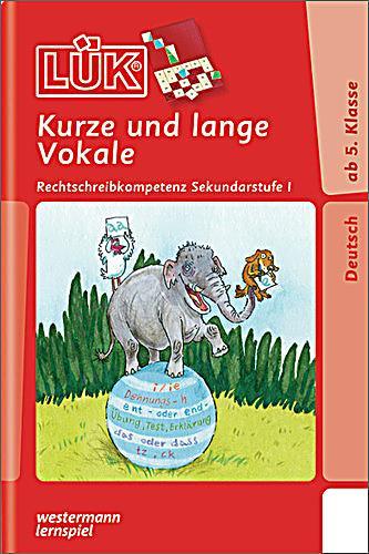 LÜK: Kurze und lange Vokale Buch bei Weltbild.de online bestellen