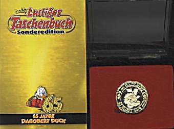 lustiges taschenbuch dagobert duck sonderedition 4 bde. Black Bedroom Furniture Sets. Home Design Ideas