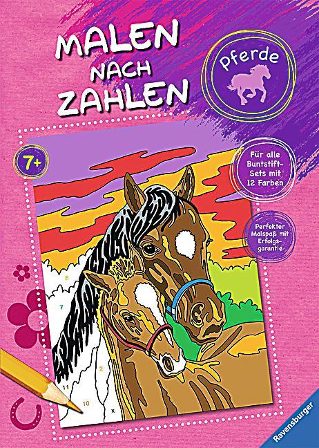 malen nach zahlen pferde buch bei weltbildch online