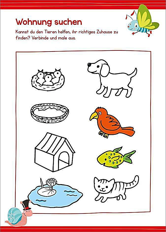 Briefe Für Kindergartenkinder : Malen und rätseln für kindergartenkinder buch weltbild