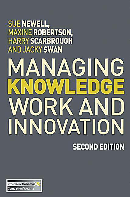 managing innovation 4th edition pdf