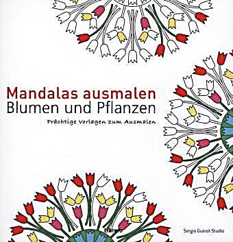 mandalas ausmalen blumen und pflanzen buch. Black Bedroom Furniture Sets. Home Design Ideas