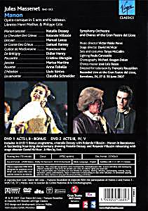 manon dessay dvd Natalie dessay (violetta), charles castronovo  and viewing this well-produced dvd of the show it's perfectly obvious why  natalie dessay (manon),.
