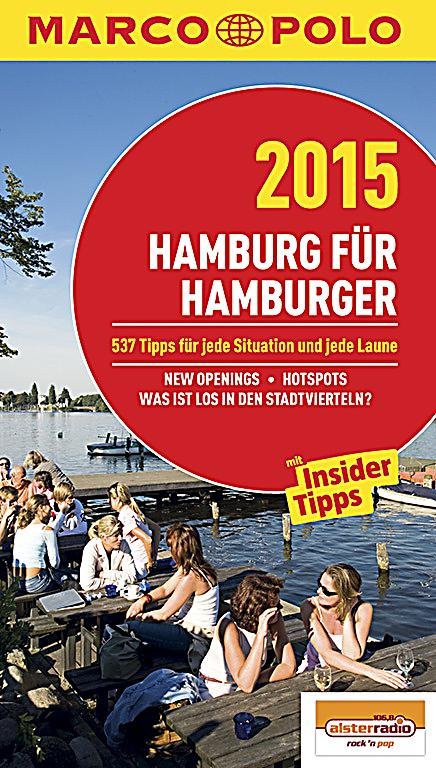 marco polo reisef hrer hamburg f r hamburger 2015 buch. Black Bedroom Furniture Sets. Home Design Ideas