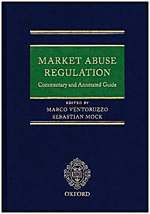 market abuse regulation commentary and annotated guide