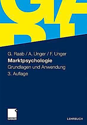 Marktpsychologie Buch von Gerhard Raab portofrei bei