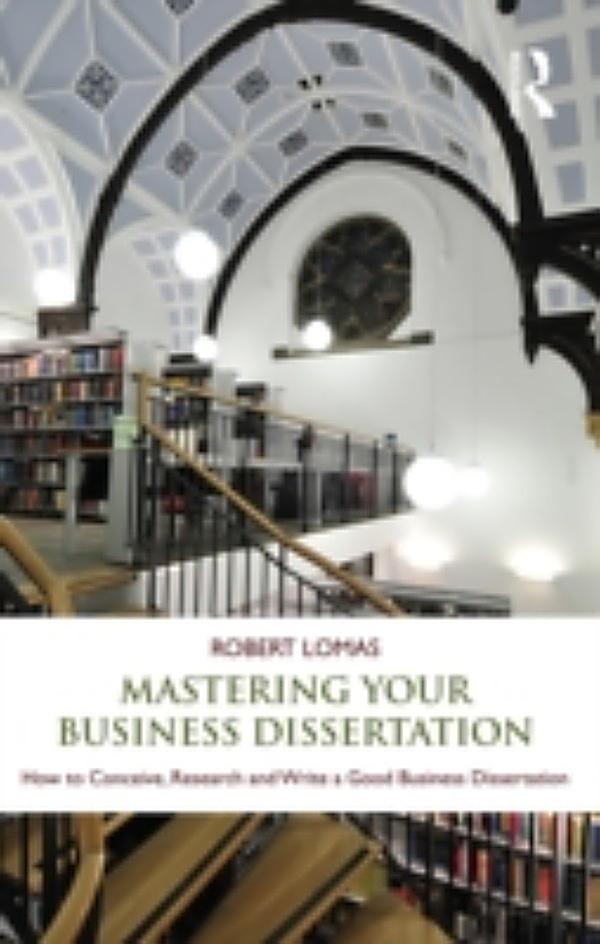 Doing your dissertation business management
