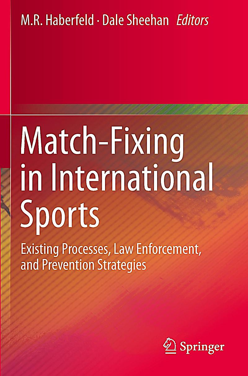 Match-Fixing in International Sports Buch portofrei ...