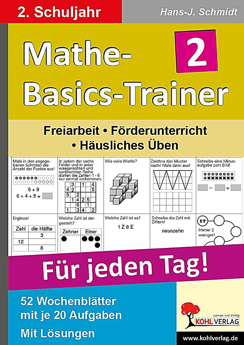 mathe basics trainer f r jeden tag 2 schuljahr buch kaufen. Black Bedroom Furniture Sets. Home Design Ideas