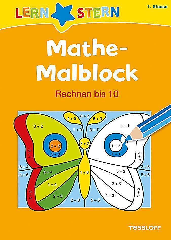mathe malblock 1 klasse rechnen bis 10 buch. Black Bedroom Furniture Sets. Home Design Ideas