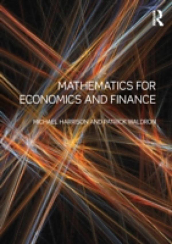 Mathematics For Economics And Finance Ebook Weltbild Ch border=