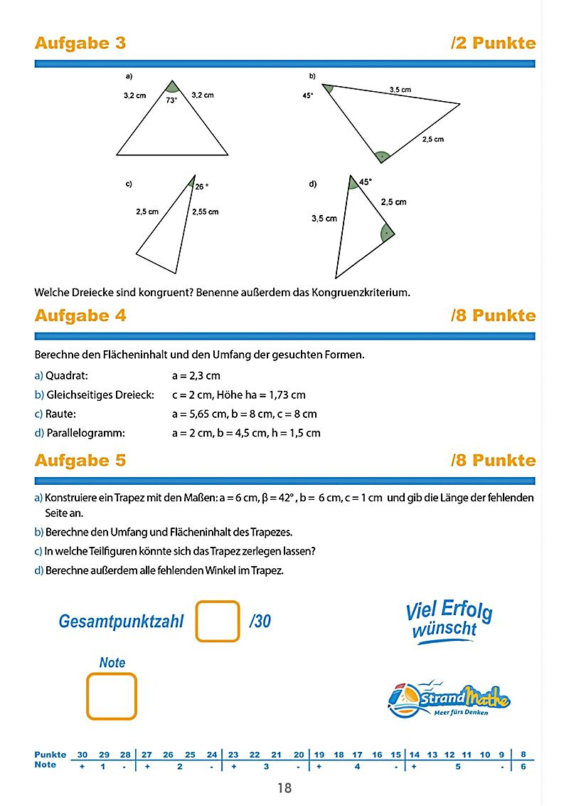 mathematik klassenarbeiten klasse 7 buch portofrei