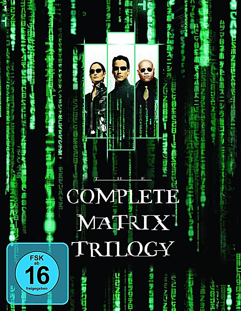 matrix the complete trilogy blu ray bei kaufen. Black Bedroom Furniture Sets. Home Design Ideas