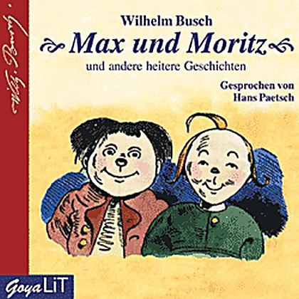 max und moritz 1 audiocd h246rbuch von wilhelm busch