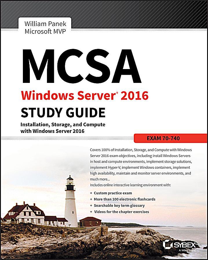 mcsa server 2016 study guide