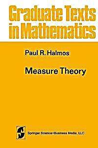 Measure theory buch von paul r halmos portofrei bei - Amtliche afa tabelle 2016 ...