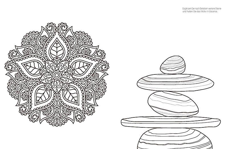 meditation ausmalen f r mehr entspannung weltbild ausgabe. Black Bedroom Furniture Sets. Home Design Ideas