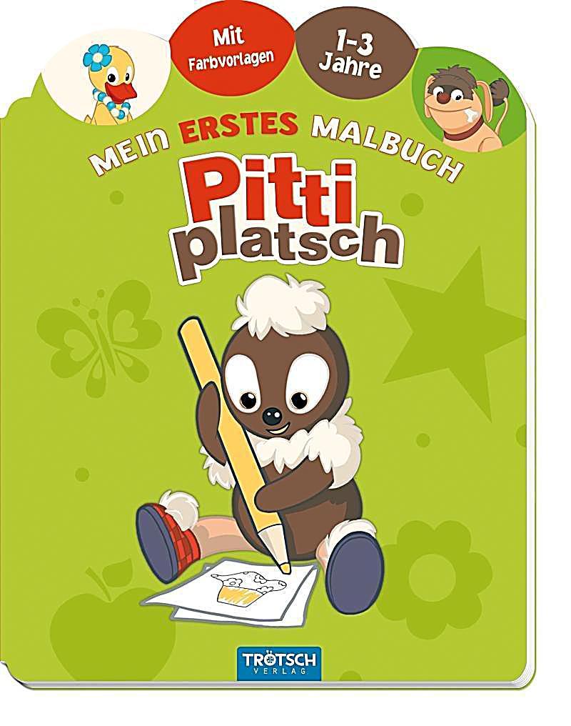 Mein erstes Malbuch Pittiplatsch Buch bei Weltbild.de bestellen