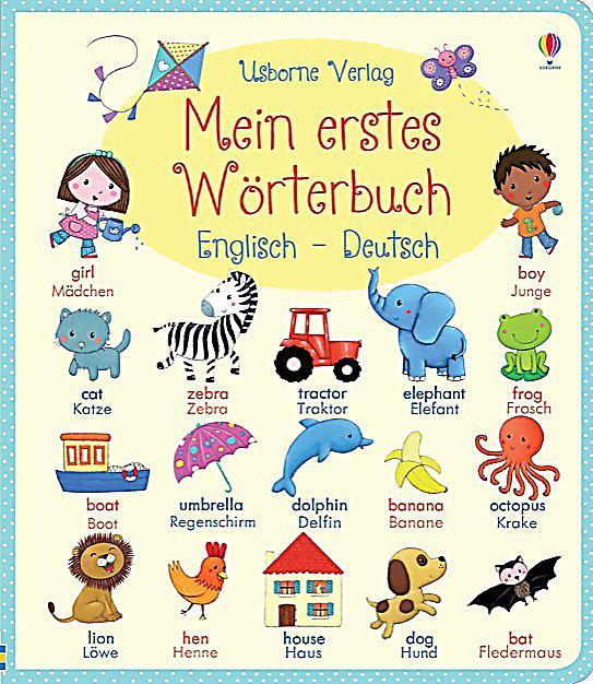 Mein erstes w rterbuch englisch deutsch buch for Englisch deutsche ubersetzung