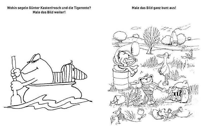 Mein famoses Malbuch Buch von Janosch bei Weltbild.at bestellen