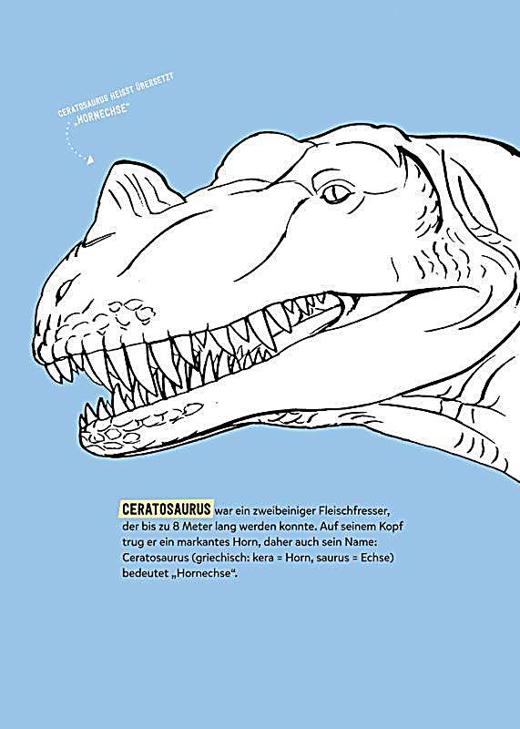 Großartig Dinosaurier Zug Malbuch Zeitgenössisch - Framing ...