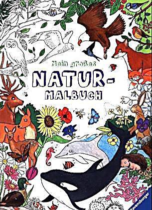 Mein großes Natur-Malbuch Buch bei Weltbild.de online bestellen