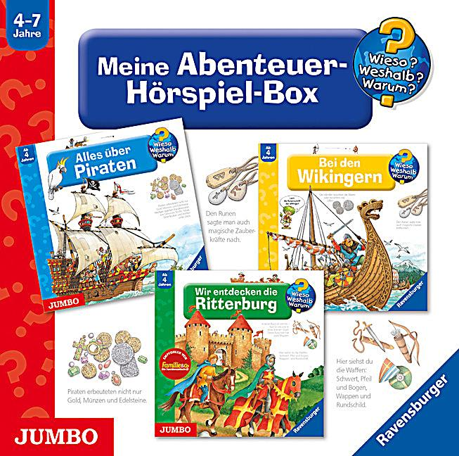 meine abenteuer h rspiel box 3 audio cds h rbuch. Black Bedroom Furniture Sets. Home Design Ideas