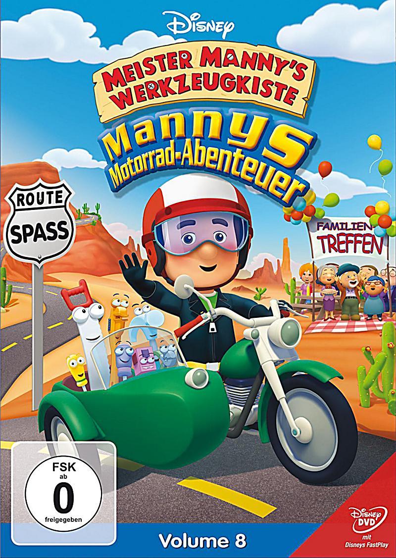 Meister Mannys Werkzeugkiste - Meister Mannys Motorrad-Abenteuer ...