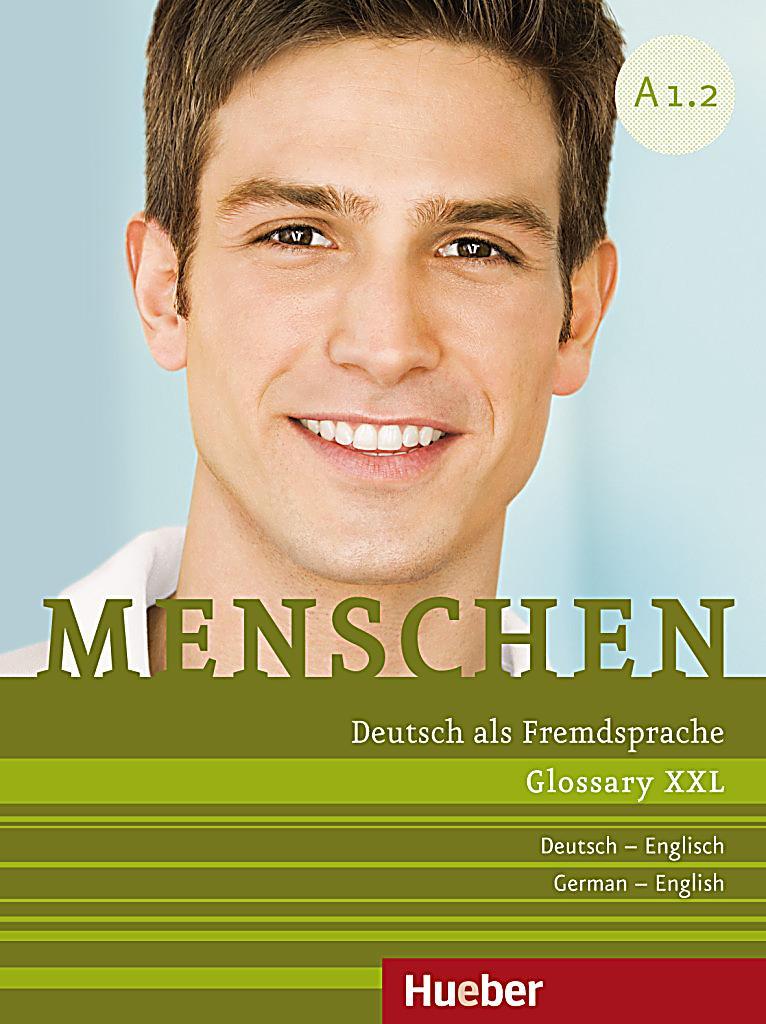 menschen deutsch als fremdsprache bd a1 2 glossary xxl deutsch englisch german english buch. Black Bedroom Furniture Sets. Home Design Ideas