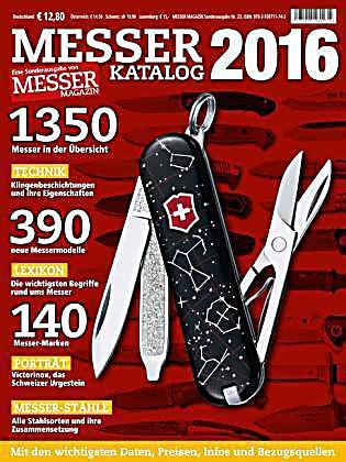 Messer Katalog 2016 Buch Portofrei Bei Bestellen