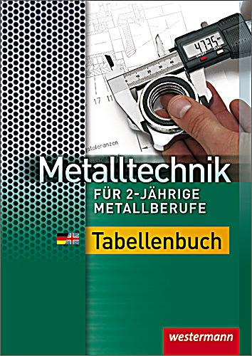 metalltechnik f r 2 j hrige metallberufe tabellenbuch buch. Black Bedroom Furniture Sets. Home Design Ideas