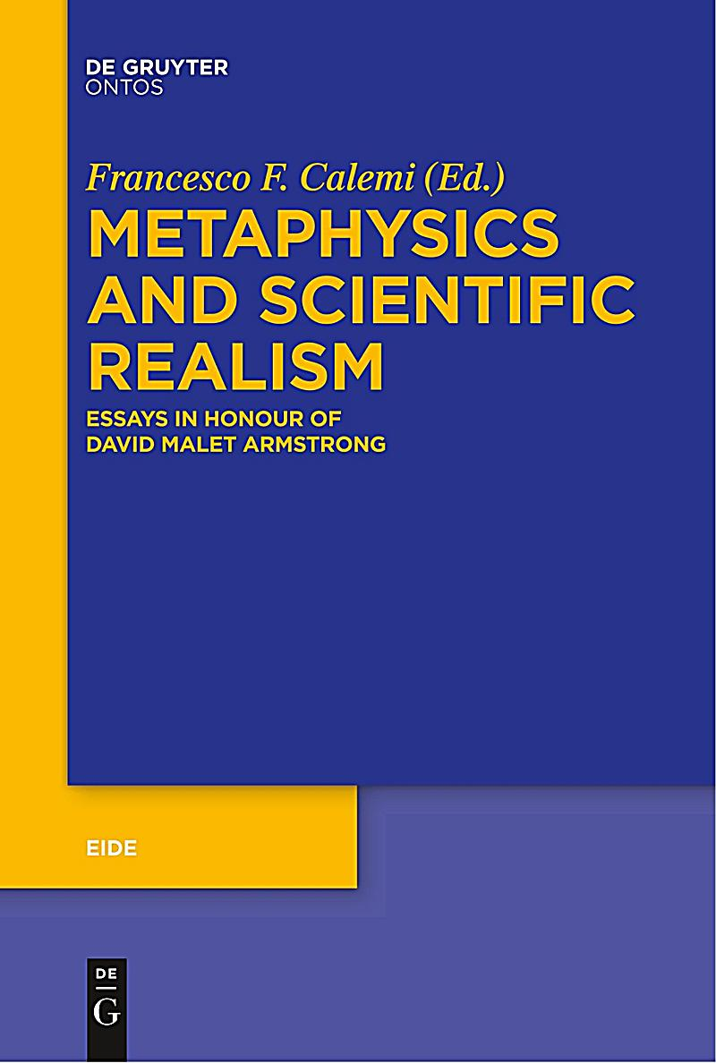 metaphysics objective realism essay Derrida, van til and the metaphysics of postmodernism an essay by jacob gabriel hale instead of trying to deny the possibility of objective reality.