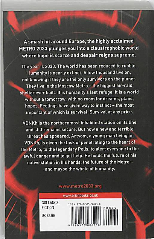 metro 2033 english edition buch bei online bestellen. Black Bedroom Furniture Sets. Home Design Ideas