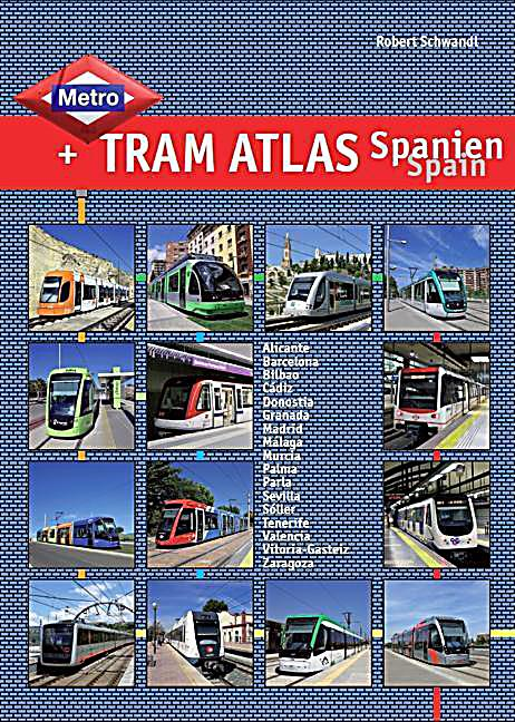 metro tram atlas spanien spain buch portofrei bei. Black Bedroom Furniture Sets. Home Design Ideas