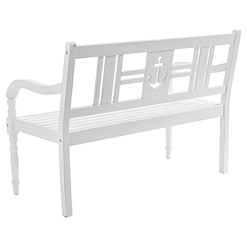 miavilla gartenbank anker wei jetzt bei bestellen. Black Bedroom Furniture Sets. Home Design Ideas
