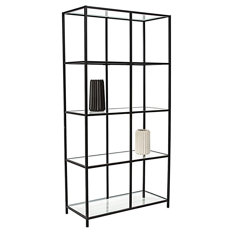miavilla regal larson schwarz jetzt bei bestellen. Black Bedroom Furniture Sets. Home Design Ideas