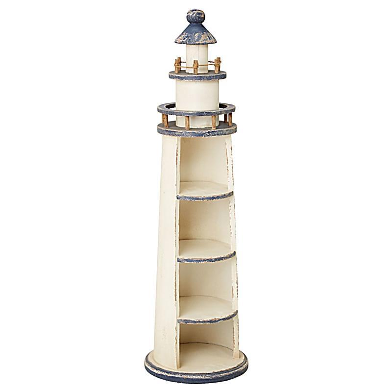 miaVILLA Regal Leuchtturm Weiss Blau bestellen | Weltbild.ch