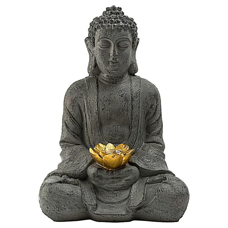 Miavilla solarleuchte buddha jetzt bei bestellen for Buddha bestellen