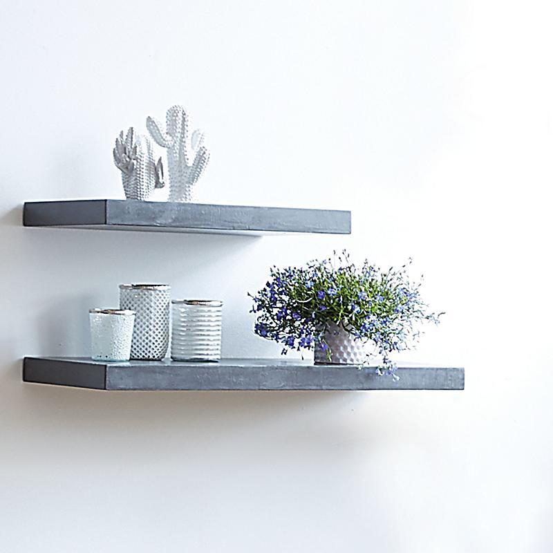 miavilla wandregal silas grau gross bestellen. Black Bedroom Furniture Sets. Home Design Ideas