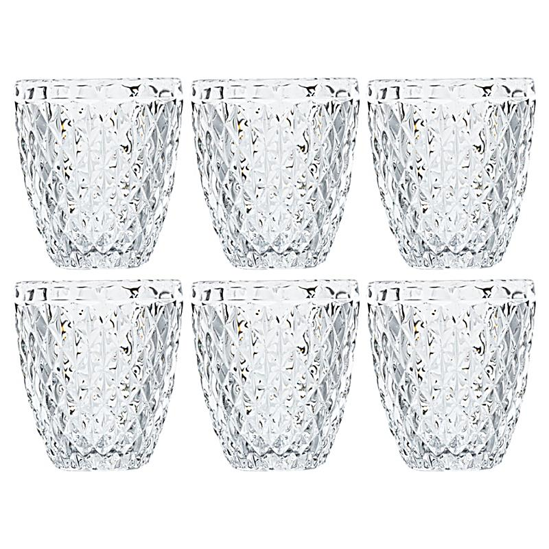 miavilla wasserglas set 6 tlg serena transparent. Black Bedroom Furniture Sets. Home Design Ideas