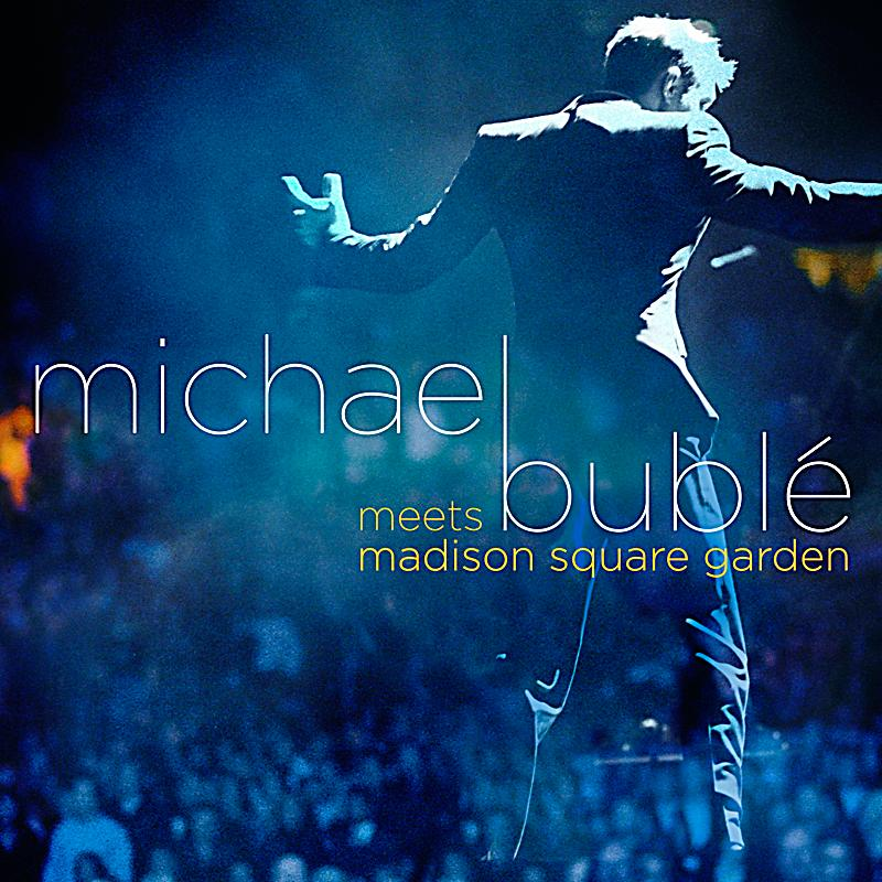 michael bubl meets madison square garden cd dvd special. Black Bedroom Furniture Sets. Home Design Ideas