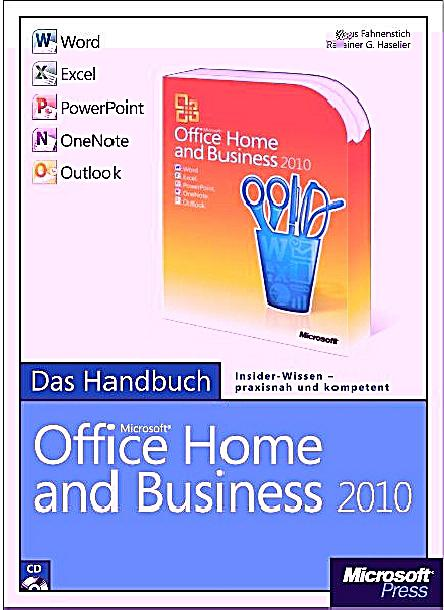 microsoft office home and business 2010 m cd rom buch. Black Bedroom Furniture Sets. Home Design Ideas