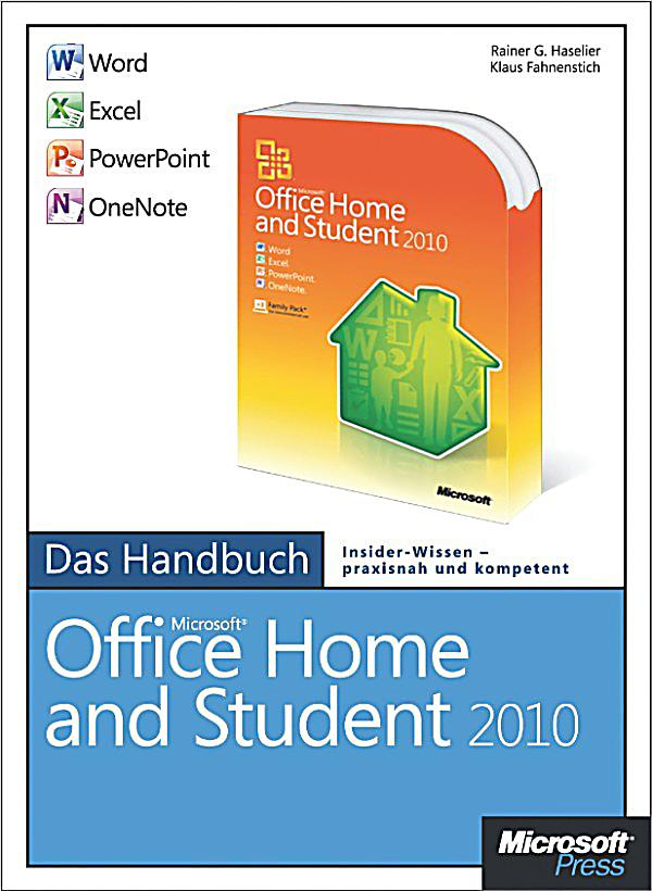 microsoft office home and student 2010 das handbuch. Black Bedroom Furniture Sets. Home Design Ideas