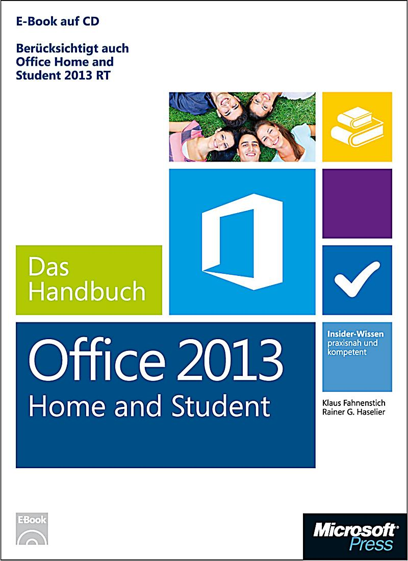 microsoft office home student 2013 das handbuch. Black Bedroom Furniture Sets. Home Design Ideas