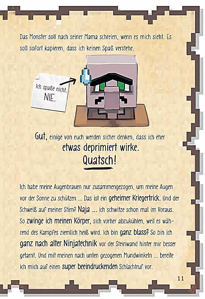 Minecraft: Tagebuch eines Super-Kriegers Buch - Weltbild.at