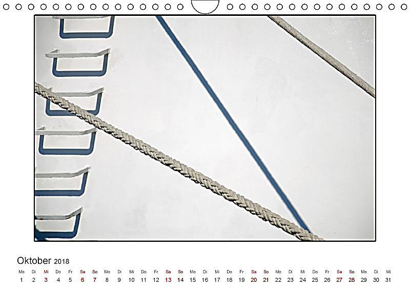 Minimalismus weniger ist mehr wandkalender 2018 din a4 for Minimalismus weniger besitzen mehr leben