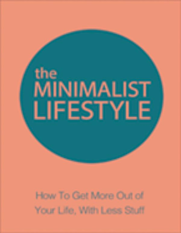 Minimalist lifesyle ebook jetzt bei als download for Minimalist werden
