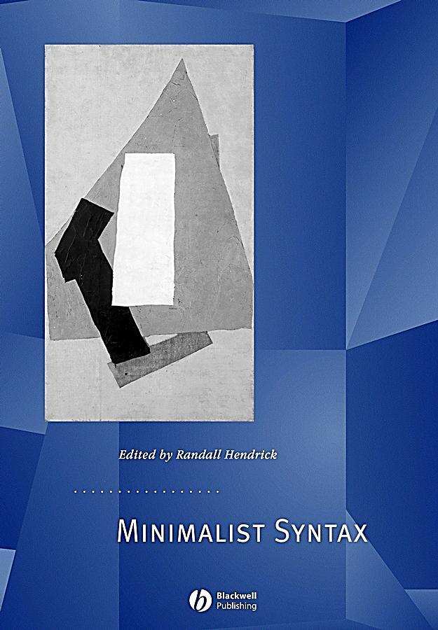 Minimalist syntax ebook jetzt bei als download for Minimalist werden
