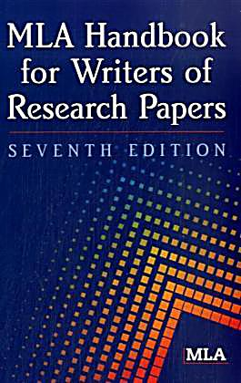 Handbook for writers of research papers by joseph gibaldi