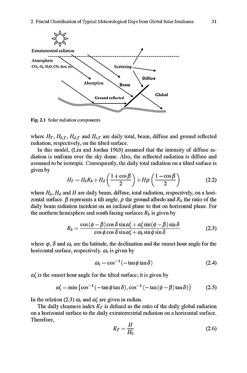 solar radiation on earth pdf